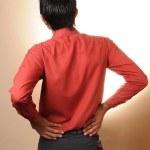 Backache — Stock Photo