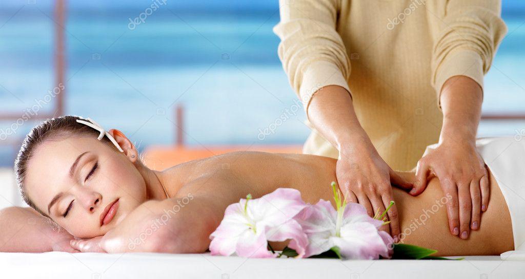 áspero masajes hermoso