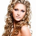 Beautiful woman with beauty long hairs — Stock Photo