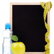 Small blackboard — Stock Photo