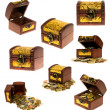 Treasure chest - Stockfoto