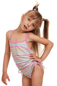 Girl wearing swimsuit — Stock Photo