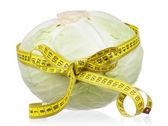 Fresh cabbage — Photo