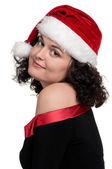 Christmas girl — Стоковое фото