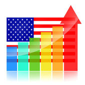 American Growth — Stock Photo
