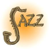 Jazz music — Stock Photo