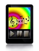 Music Player — Stock Photo