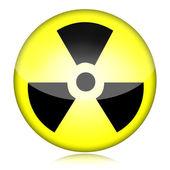 Radioactive Symbol — Stock Photo