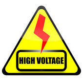 High Voltage — Fotografia Stock