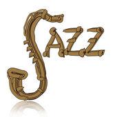 Jazz concept — Stock Photo