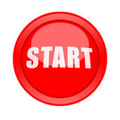 Start Button — Stock Photo