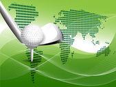 Texture golf — Stock Vector