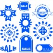 Vector great collection of sale elements. — Stock Vector #7158661