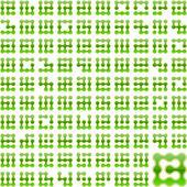 Set of original vector symbols. — Stock Vector