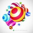 Vector abstract background. - Vettoriali Stock