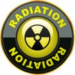 Radioactive icon. - Stock Vector