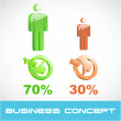 Royalty-Free Stock Vektorov obrzek: Business concept.