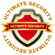 Ultimate security. — Stock Vector