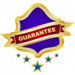 Guarantee label for sale.  — Stock Vector