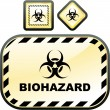 Biohazard signs.  — Stock Vector