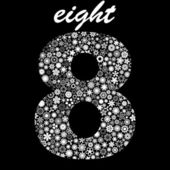 EIGHT. Vector illustration. — Stock Vector