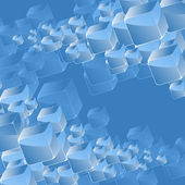 Abstract crystals background. — 图库矢量图片