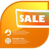 Colección de banner de venta. conjunto de elementos del vector para la venta. — Vector de stock