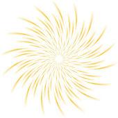 Sunburst abstract vector — Stock Vector