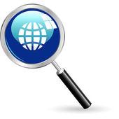 Vector search icon. — Stock Vector