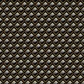 Seamless metal plate. — Stock Vector