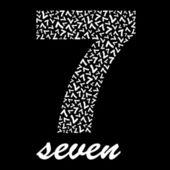 SEVEN. Vector illustration. — Stock Vector