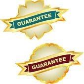 Etiquetas de garantia vector. — Vetorial Stock
