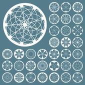 Vector pictogram. Design element set. — Stock Vector