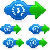 вектор гарантируют элементы враг продажа. — Cтоковый вектор