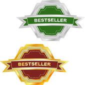 Bestseller emblem set for sale. — Stock Vector