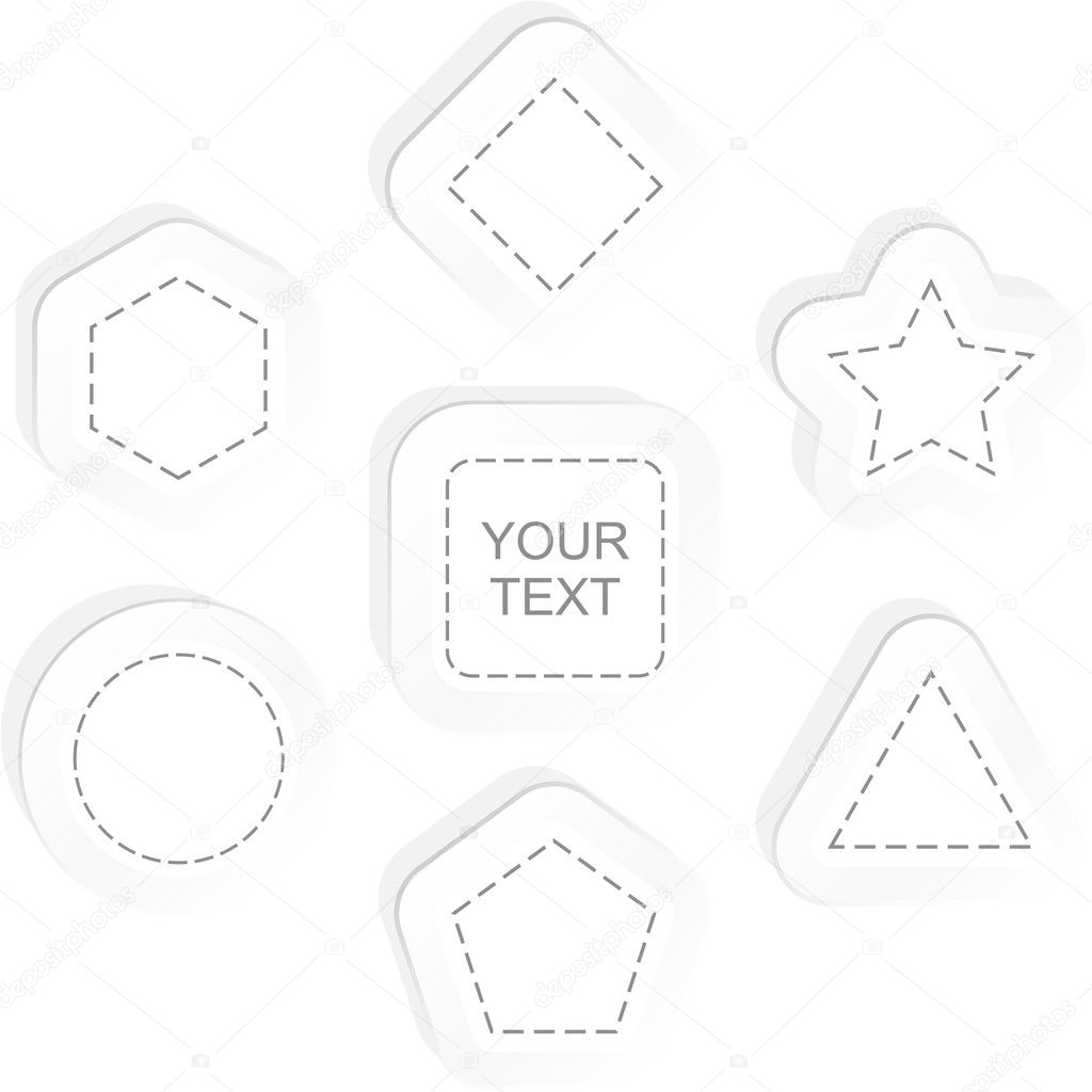 Vector shields for design — Stock Vector #7161041