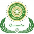 Vector guarantee label — Stock Vector