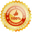 Vector guarantee label. — Stock Vector