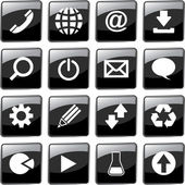Vector collection of web buttons. — Wektor stockowy