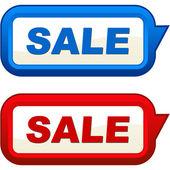 Elementos de design de venda. ilustração vetorial. — Vetorial Stock