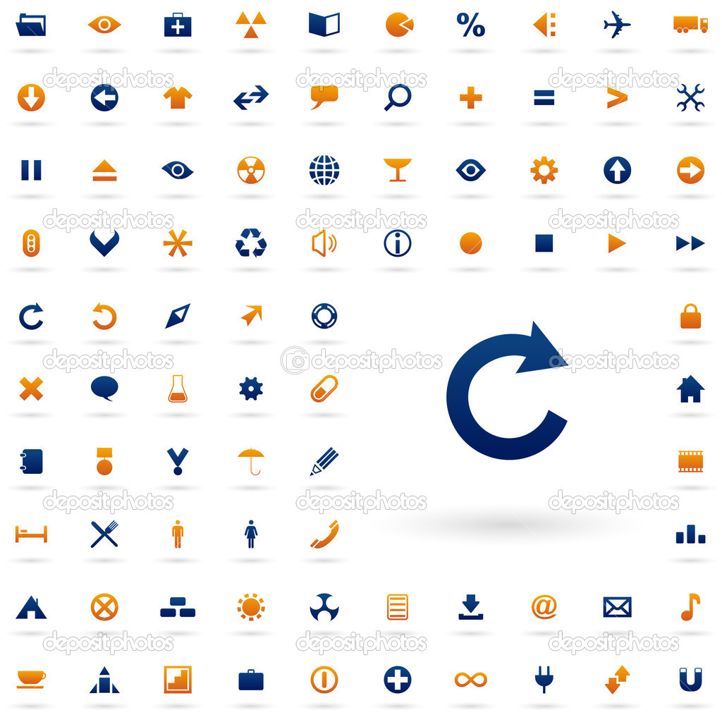 набор красивых иконок: