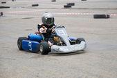 Kart racing — Stock Photo