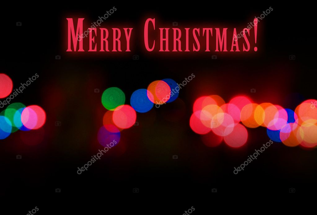 Festive bright black background for Christmas — Stock Photo #7658063