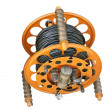 Cable reel for mobile working — Foto Stock