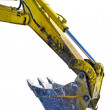 Excavator arm — Stock Photo