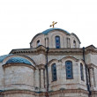 The Vladimir cathedral in Sevastopol - Stock Photo