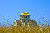 The Vladimir cathedral in Sevastopol — Stock Photo