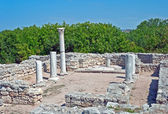 Klassisk grekiska altaret — Stockfoto