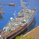 Naval ship — Stock Photo