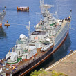 Naval ship — Stockfoto